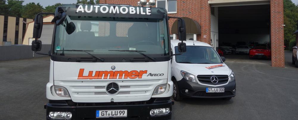 Herzlich Willkommen bei Lummer Automobile.